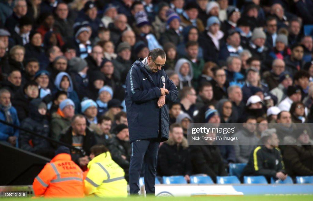 Manchester City v Chelsea - Premier League - Etihad Stadium : News Photo