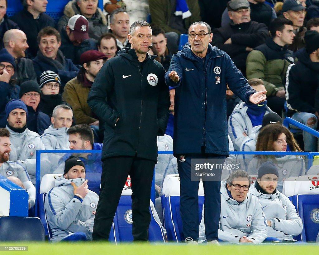 Chelsea v Manchester United - FA Cup Fifth Round : Foto jornalística
