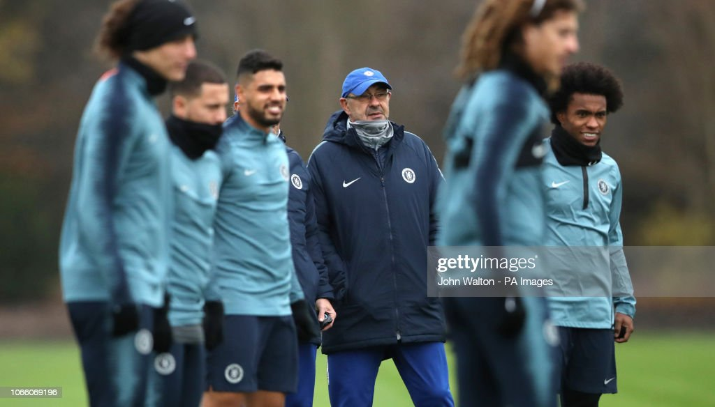 Chelsea Training and Press Conference - Cobham Training Centre : News Photo