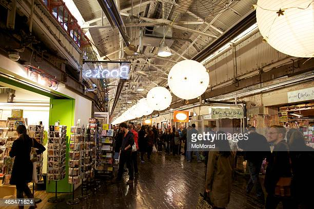 chelsea market in new york - chelsea new york stock photos and pictures