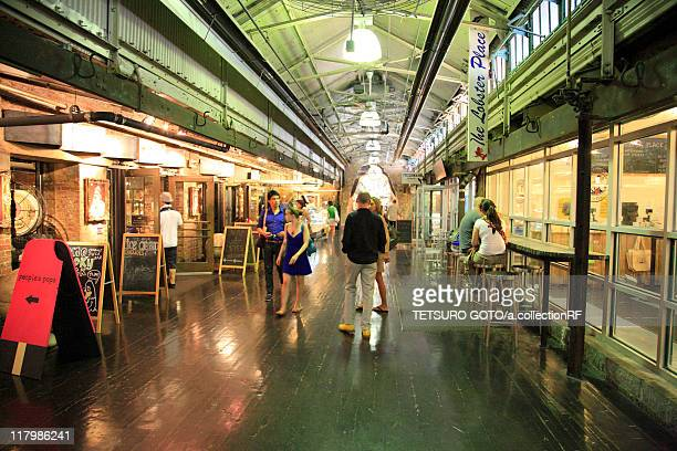 chelsea market - chelsea new york stock photos and pictures