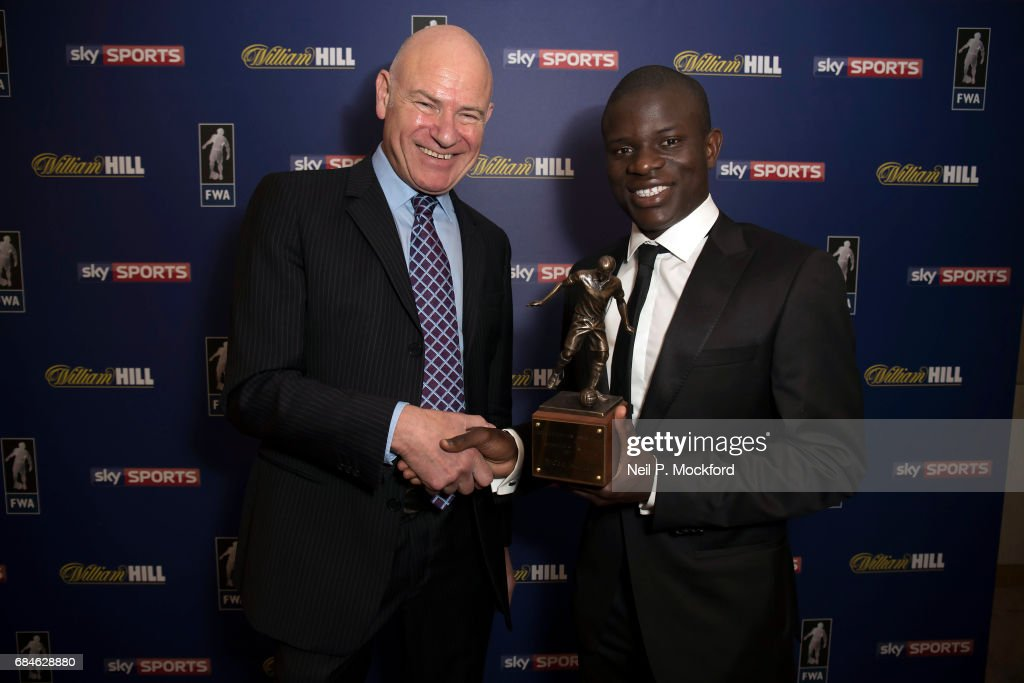 Football Writers Association Player of the Year : News Photo