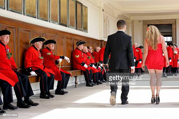 Chelsea Pensioners attend the annual Founders Day Parade at Royal Hospital Chelsea on June 4, 2009 in London, England.