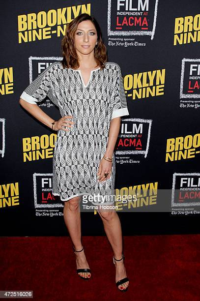 Chelsea Peretti attends Film Independent's an evening with 'Brooklyn NineNine' at LACMA on May 7 2015 in Los Angeles California