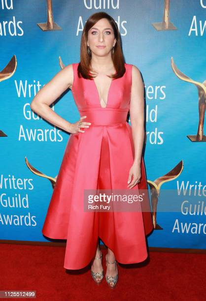 Chelsea Peretti attends the 2019 Writers Guild Awards LA Ceremony at The Beverly Hilton Hotel on February 17 2019 in Beverly Hills California