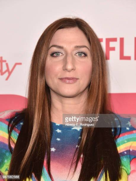Chelsea Peretti attends the 6th Annual Hilarity For Charity at The Hollywood Palladium on March 24 2018 in Los Angeles California