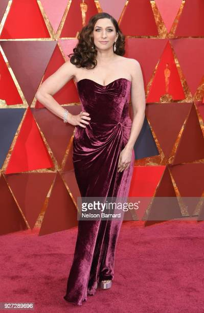 Chelsea Peretti attends the 90th Annual Academy Awards at Hollywood Highland Center on March 4 2018 in Hollywood California