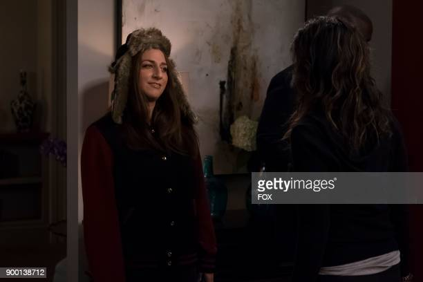 Chelsea Peretti in the Game Night Godfather special one hour episode of BROOKLYN NINENINE airing Tuesday Dec 12 on FOX