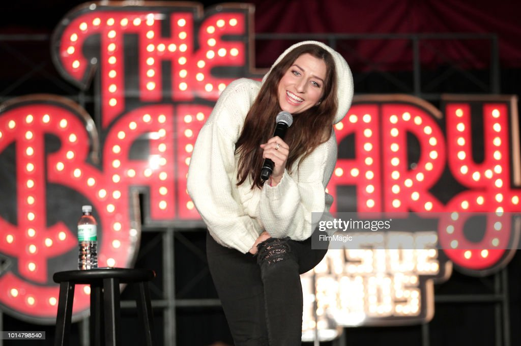 Chelsea Peretti performs on The Barbary Stage during the 2018 Outside Lands Music And Arts Festival at Golden Gate Park on August 10, 2018 in San Francisco, California.