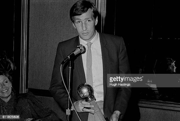 Chelsea Player of the Year Joey Jones with his trophy