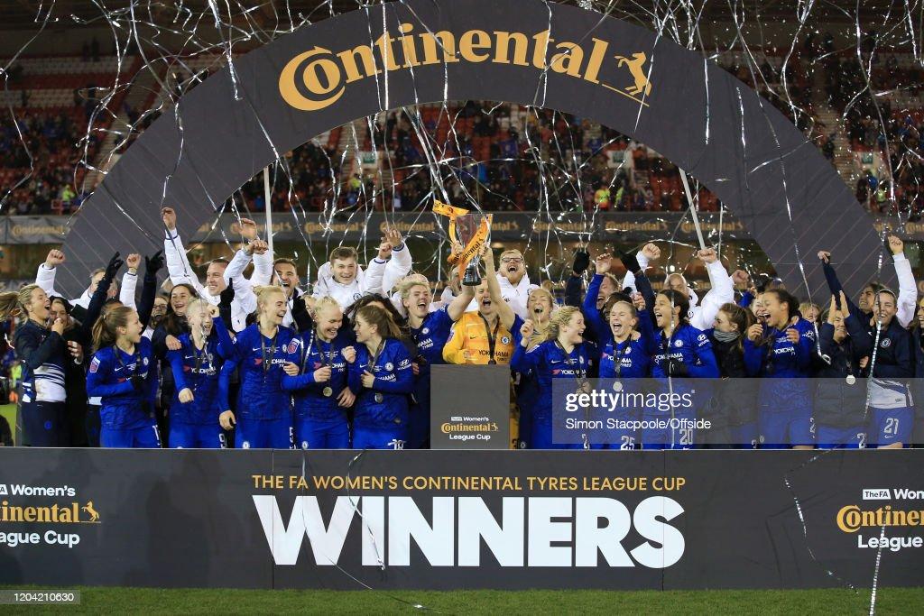 Chelsea v Arsenal - FA Women's Continental League Cup Final : News Photo