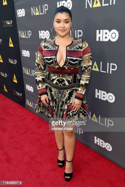 Chelsea Rendon attends the NALIP Media Summit's Latino Media Awards at The Ray Dolby Ballroom at Hollywood Highland Center on July 27 2019 in...