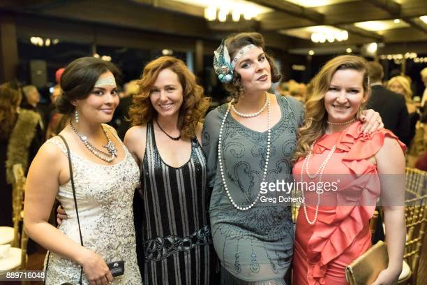 Chelsea Rivera Frankie Ingrassia Taylor Seabaker and Christine Troutman attend The Thalians Hollywood for Mental Health Holiday Party 2017 at the Bel...