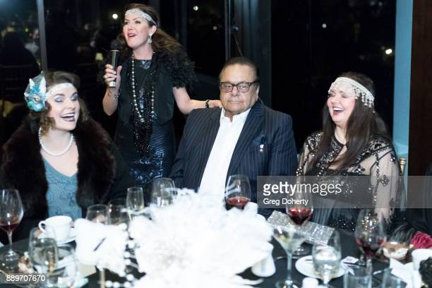Chelsea Rivera Kira Reed Lorsch Dee Dee Sorvino and Paul Sorvino attend The Thalians Hollywood for Mental Health Holiday Party 2017 at the Bel Air...