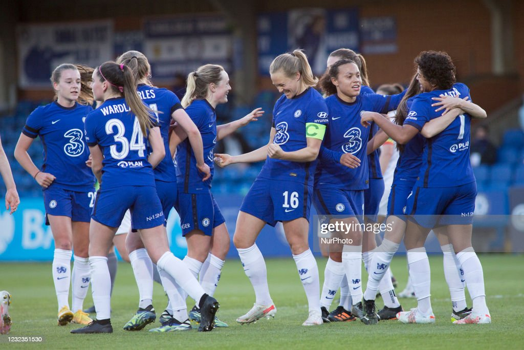 Chelsea v London City Lionesses: Vitality Women's FA Cup Fourth Round : News Photo