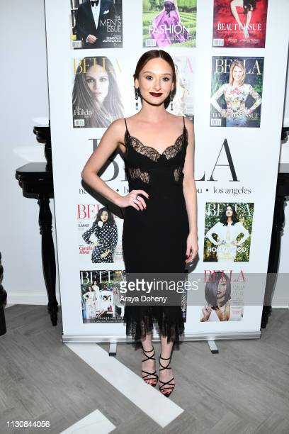 Chelsea Talmadge at BELLA Los Angeles Men's Cover Launch Party Hosted By James Brolin at The Harmonist on February 19 2019 in Los Angeles California