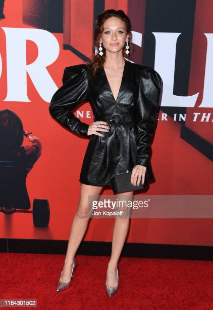 Chelsea Talmadge attends the premiere of Warner Bros Pictures' Doctor Sleep at Westwood Regency Theater on October 29 2019 in Los Angeles California