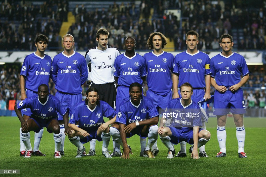 Chelsea team to face FC Porto prior to the UEFA Champions ...