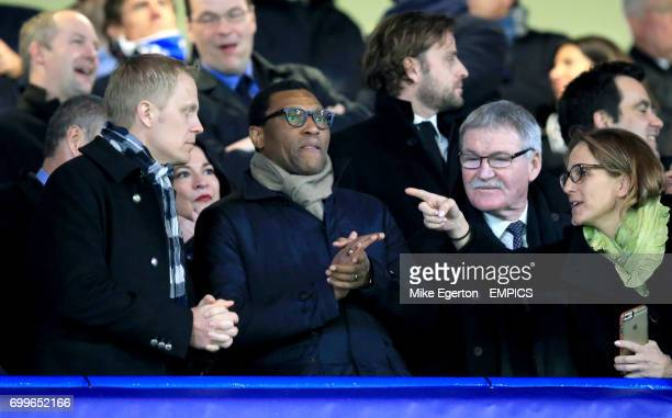 Chelsea technical director Michael Emenalo in the stands