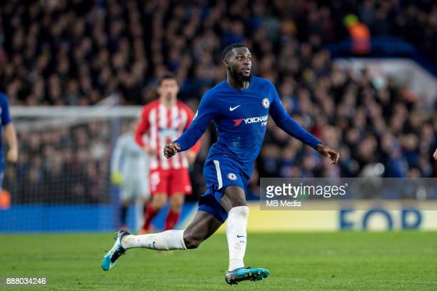 Chelsea Tiémoué Bakayoko during the UEFA Champions League group C match between Chelsea FC and Atletico Madrid at Stamford Bridge on December 5 2017...