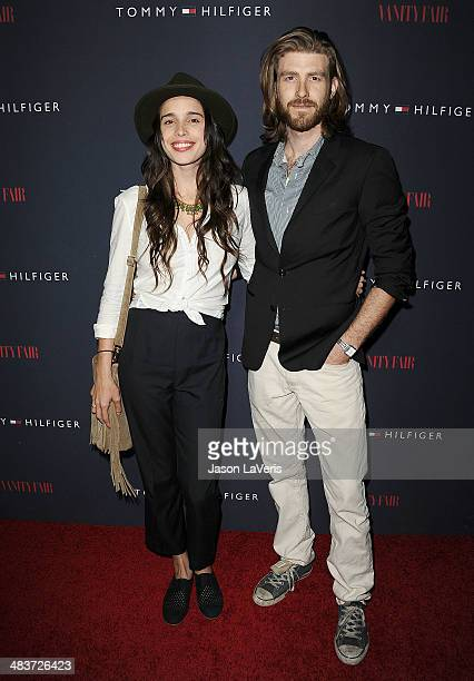 Chelsea Tyler and actor Jon Foster attend the debut of Tommy Hilfiger's Capsule Collection at The London Hotel on April 9 2014 in West Hollywood...