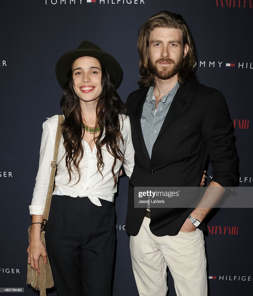 Chelsea Tyler and actor Jon Foster attend the debut of Tommy Hilfiger's Capsule Collection at The London Hotel on April 9, 2014 in West Hollywood, California.