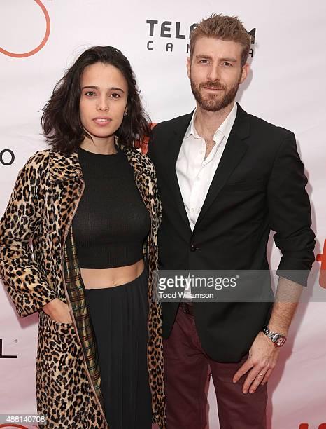 Chelsea Tyler and Jon Foster attend the 2015 Toronto International Film Festival 'The Program' Premiere at Roy Thomson Hall on September 13 2015 in...
