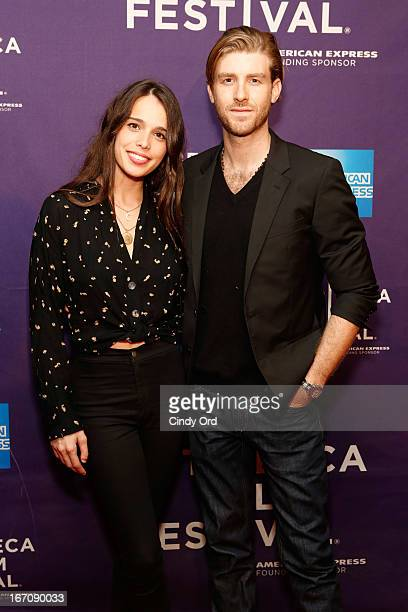 Chelsea Tyler and Jon Foster attend the Mr Jones World Premiere during the 2013 Tribeca Film Festival on April 19 2013 in New York City