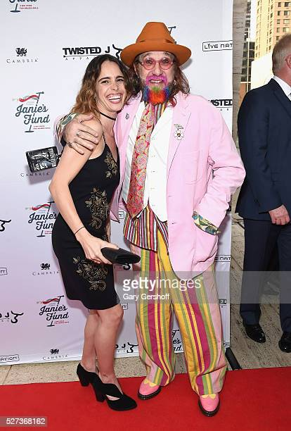 Chelsea Tyler and Mark Hudson attend the 'Steven TylerOut on a Limb' show to benefit Janie's Fund in collaboration with Youth Villages at David...