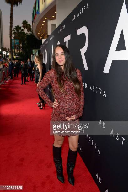 Chelsea Tyler attends the premiere of 20th Century Fox's Ad Astra at The Cinerama Dome on September 18 2019 in Los Angeles California