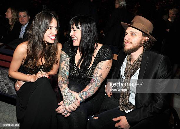 Chelsea Tyler Mia Tyler and Jesse Kotansky attend Tommy Hilfiger Presents Fall 2012 Women's Collection at the Park Avenue Armory at Park Avenue...