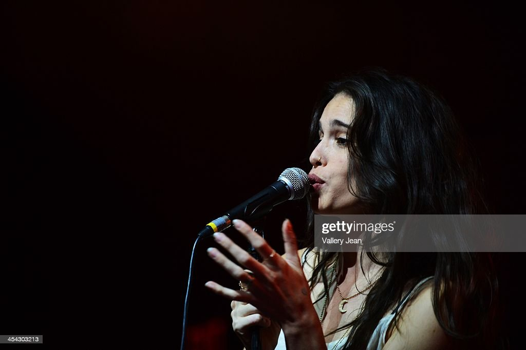 Chelsea Tyler of BadBad performs on December 7, 2013 in Fort Lauderdale, Florida.