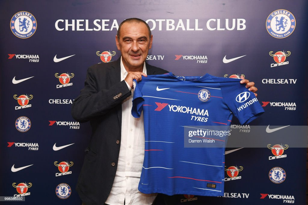 Chelsea Unveil New Head Coach Maurizio Sarri