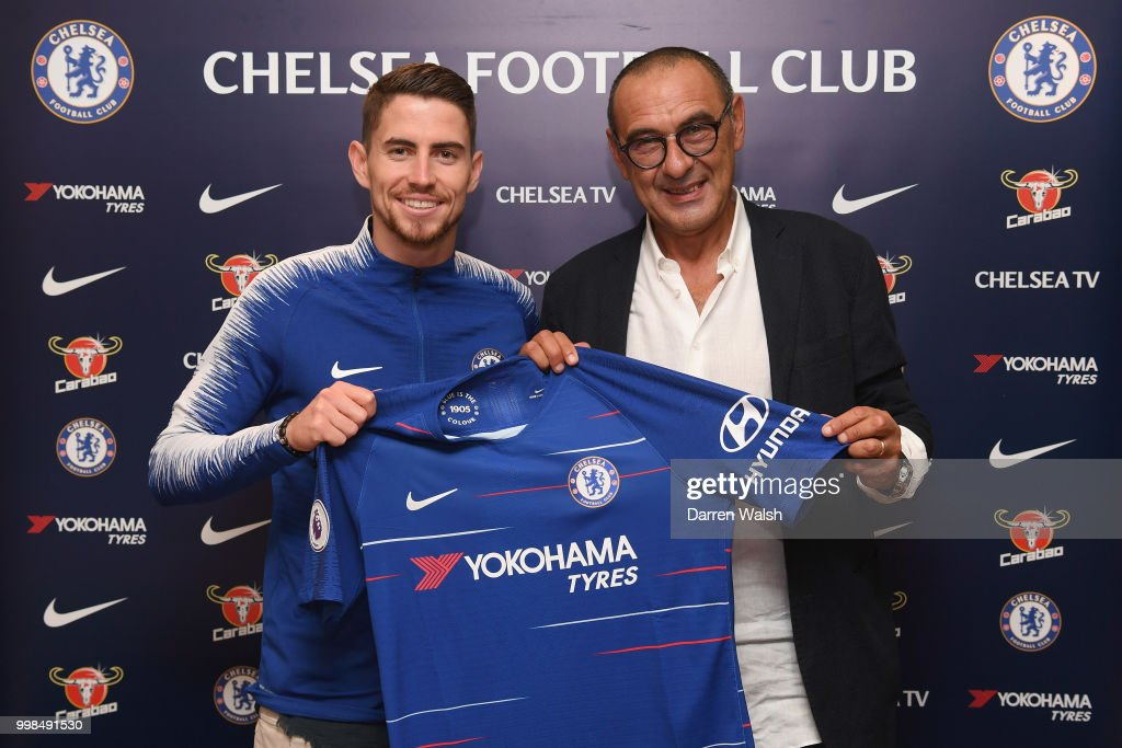 Chelsea Unveil New Signing Jorginho