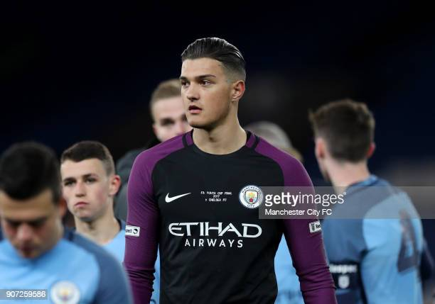 Chelsea v Manchester City FA Youth Cup Final Second Leg Stamford Bridge Aro Muric Manchester City