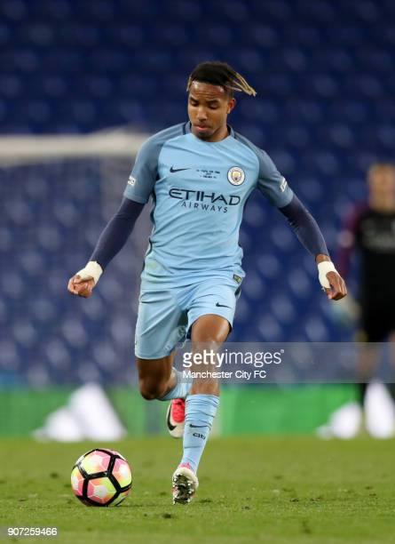 Chelsea v Manchester City FA Youth Cup Final Second Leg Stamford Bridge Demeaco Duhaney Manchester City