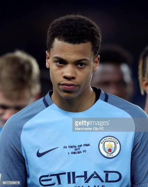 Chelsea v Manchester City FA Youth Cup Final Second Leg Stamford Bridge Lukas Nmecha Manchester City