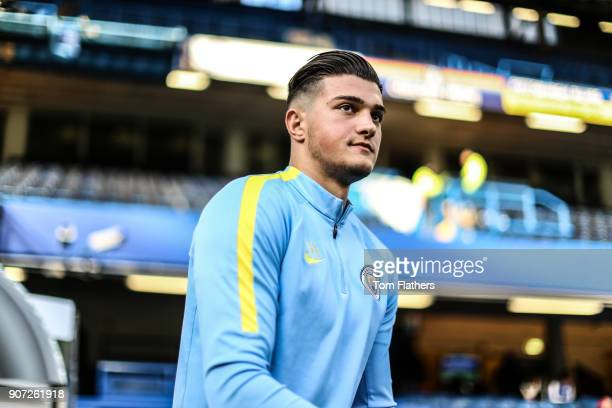 Chelsea v Manchester City FA Youth Cup Final Second Leg Stamford Bridge Manchester City's Aro Muric ahead of the FA Youth Cup Final