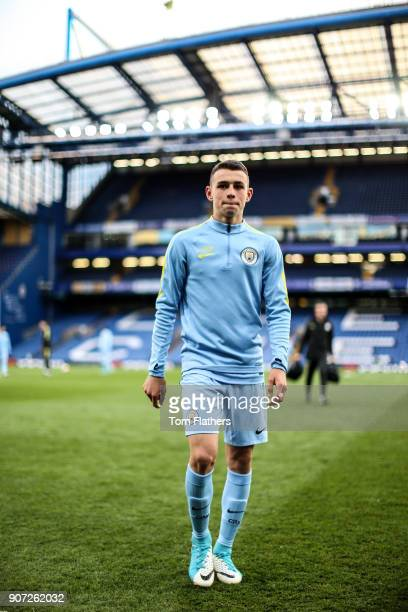 Chelsea v Manchester City FA Youth Cup Final Second Leg Stamford Bridge Manchester City's Phil Foden ahead of the FA Youth Cup Final