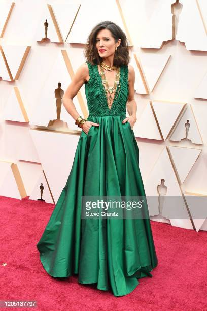 Chelsea Winstanley attends the 92nd Annual Academy Awards at Hollywood and Highland on February 09 2020 in Hollywood California