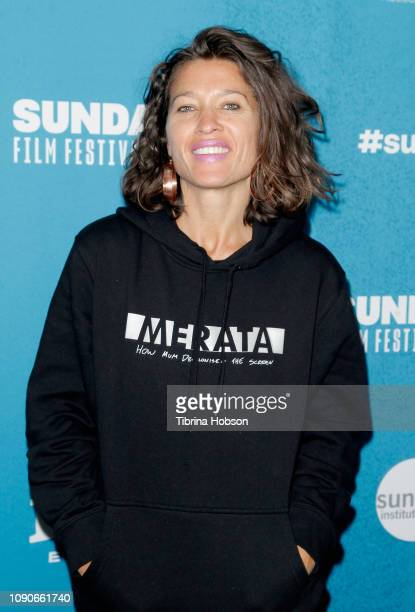 Chelsea Winstanley attends the MERATA How Mum Decolonised The Screen Premiere during the 2019 Sundance Film Festival at Prospector Square Theatre on...