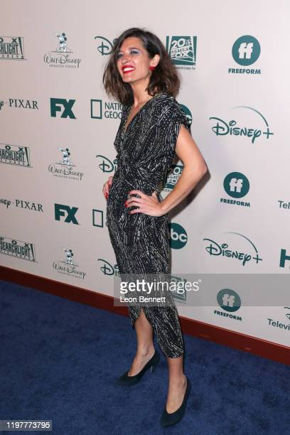 Chelsea Winstanley attends The Walt Disney Company 2020 Golden Globe Awards PostShow Celebration at The Beverly Hilton Hotel on January 05 2020 in...