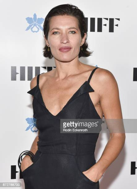 Chelsea Winstanley Cohen attends the 37th Annual Hawaii International Film Festival Gala presented by Halekulani on November 10 2017 in Honolulu...