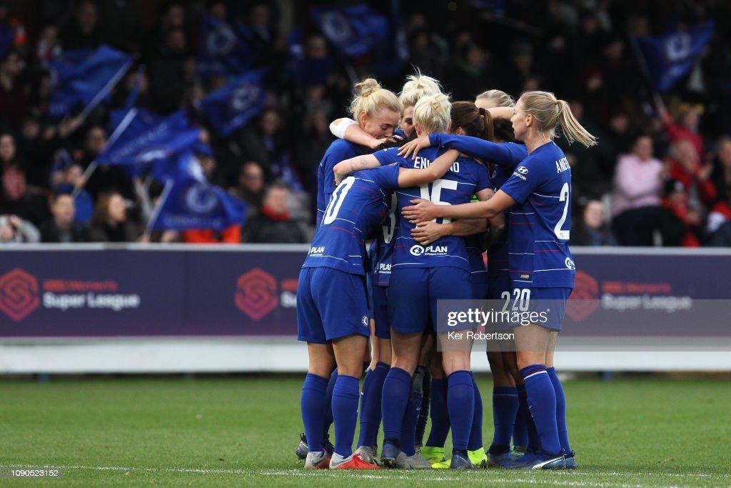 Chelsea Women v Everton Ladies - FA WSL : News Photo