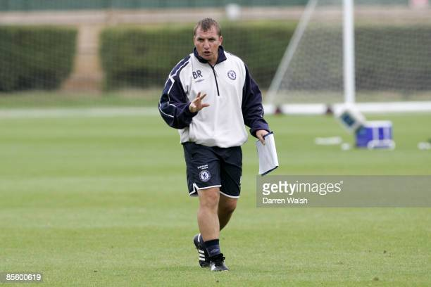 Chelsea Youth Team Coach Brendan Rodgers