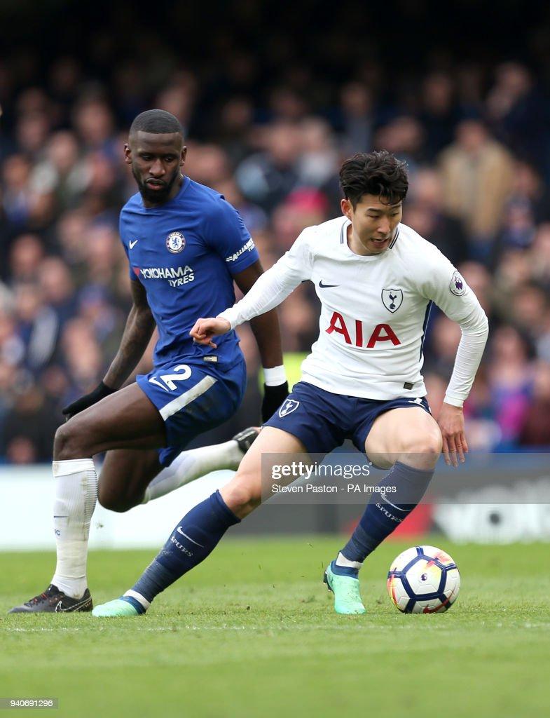 Chelsea v Tottenham Hotspur - Premier League - Stamford Bridge : News Photo