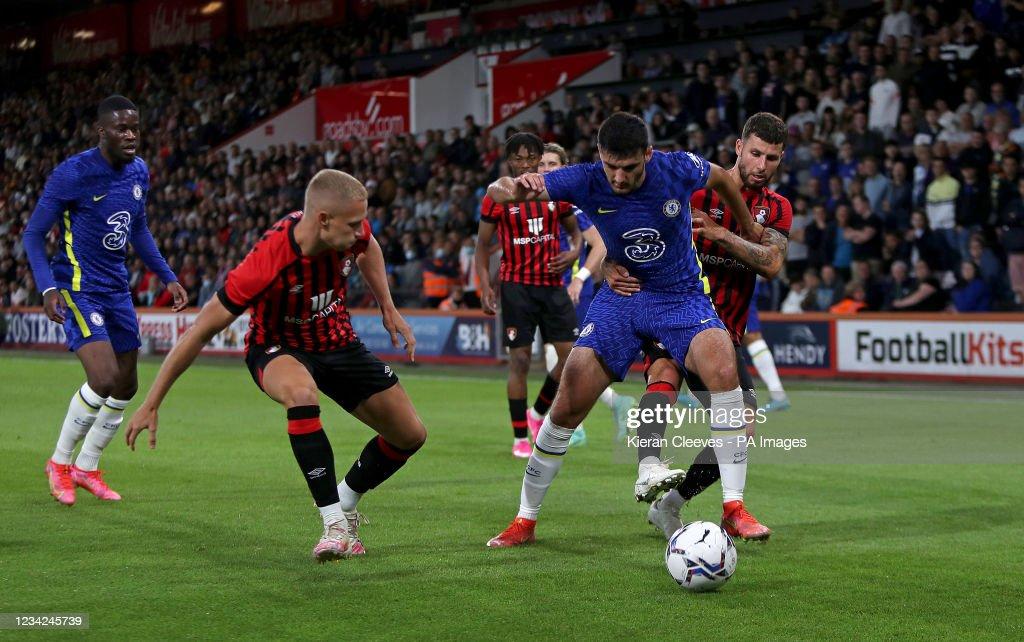 AFC Bournemouth v Chelsea - Pre Season Friendly - Vitality Stadium : News Photo
