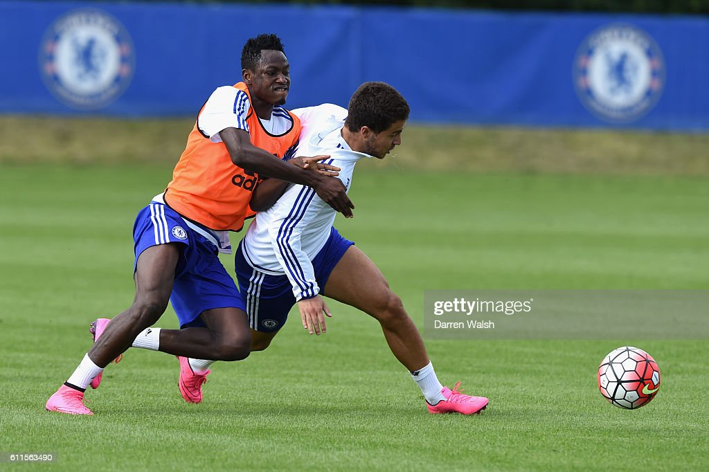 Hazard tells me what he plans for a game - Baba Rahman reveals