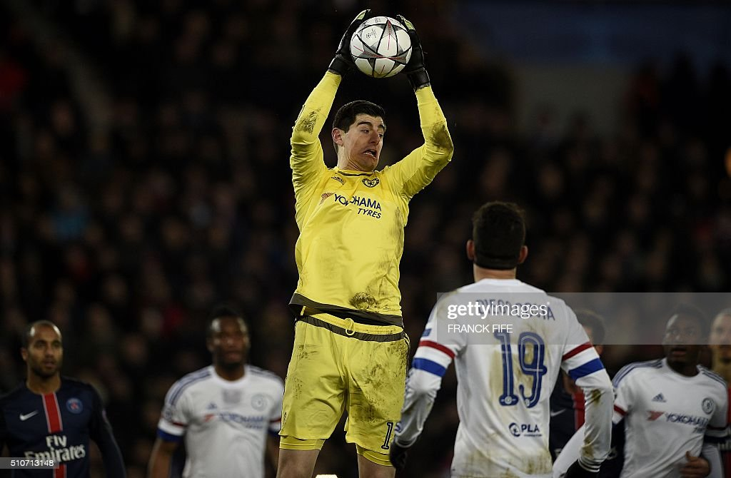 FBL-EUR-C1-PSG-CHELSEA : News Photo