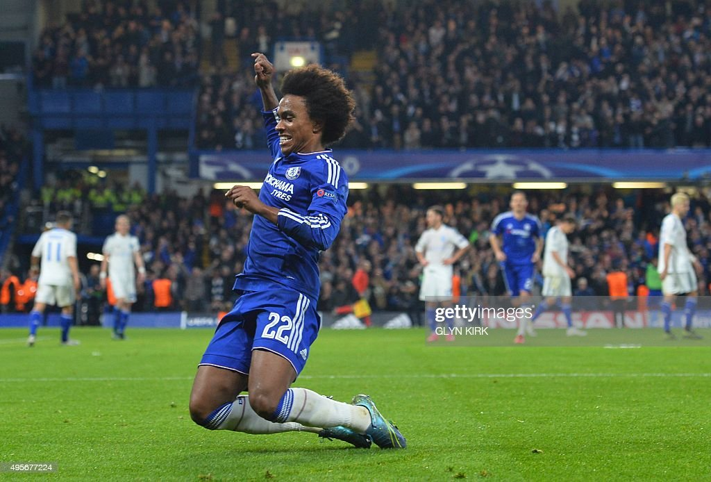 FBL-EUR-C1-CHELSEA-DYNAMO KIEV : News Photo
